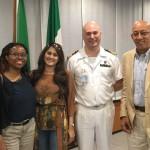 Con il Capitano Gallinelli a Roma